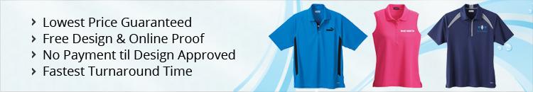 Custom Short Sleeve Polo Shirts