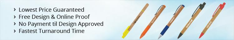 Custom Wood & Recycled Pens
