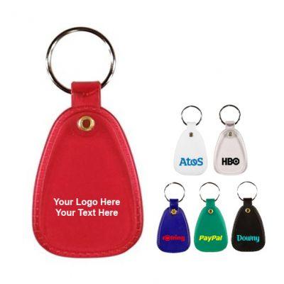 Custom Printed Saddle Key Fob