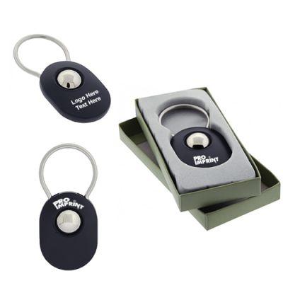 Custom Imprinted Ball Metal Keychains