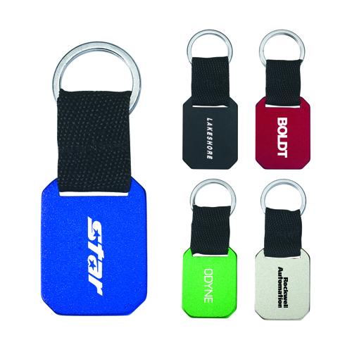 custom imprinted metal key tags