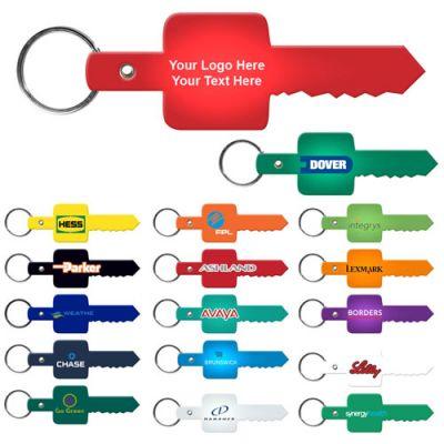 Personalized Key Shaped Flexible Key-Tags