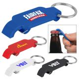 Custom Printed Keychains with Slim Bottle Openers