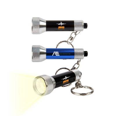 Custom Printed 7 LED Keychain Flashlights