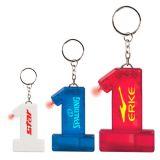 Custom Printed Number 1 Whistle Keylight