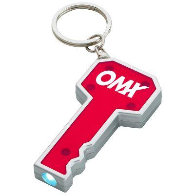 Personalized Key Shape LED Flashlight Keychains