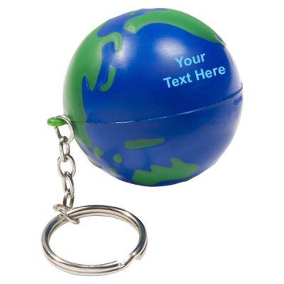 Custom Imprinted Earthball Key Chains