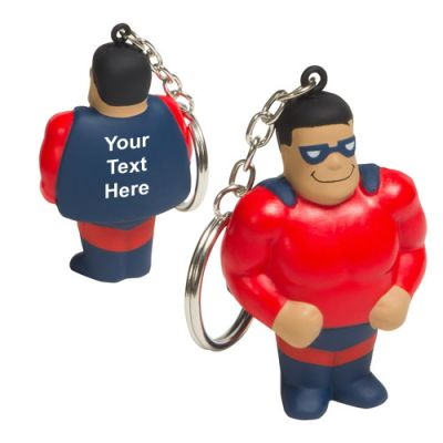 Custom Imprinted Super Hero Key Chains
