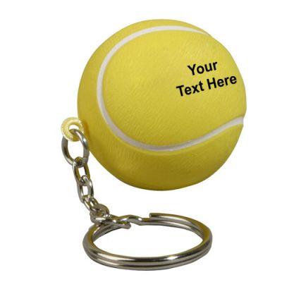 Customized Tennis Ball Key Chains