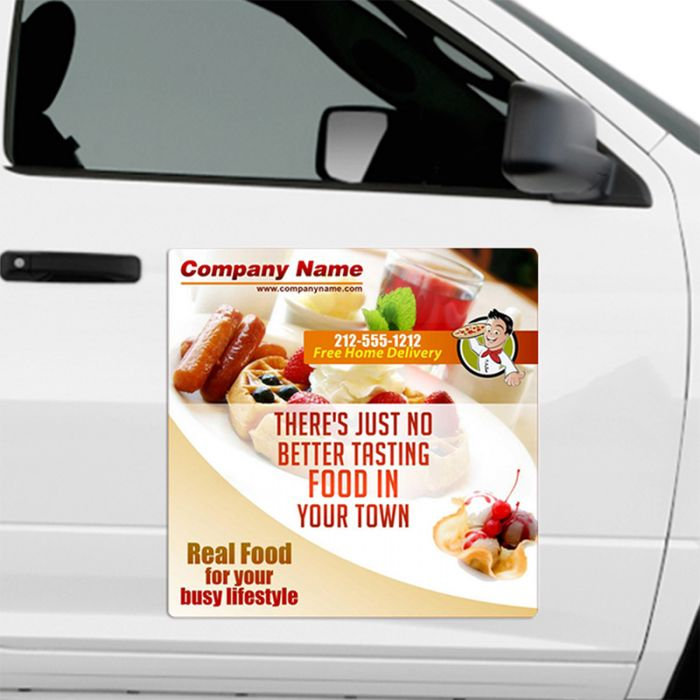 Outdoor & Car Magnets 30 Mil Round Corners