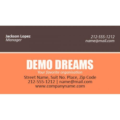 Business Card Magnets 25 Mil Square Corner