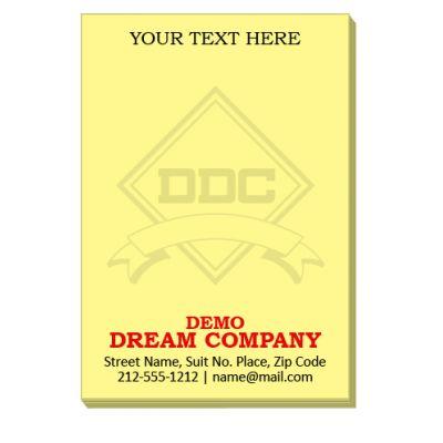 2x3 Custom Imprinted Sticky Notes