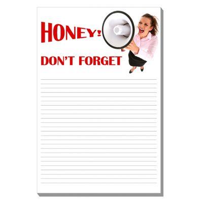 4 x 6 Custom Imprinted Adhesive Notes