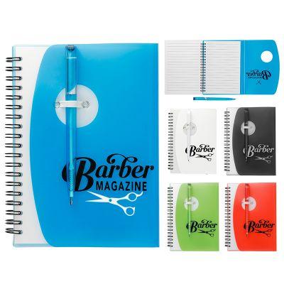 Customized Sun Spiral Notebooks