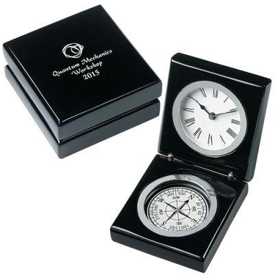 Custom Imprinted Bearing Clocks