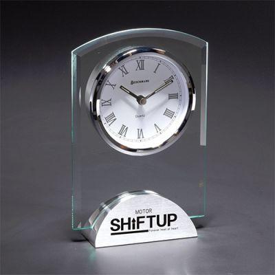 Custom Imprinted Duchess Glass Clocks