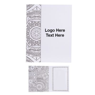 Custom Imprinted Doodle Note Card Set