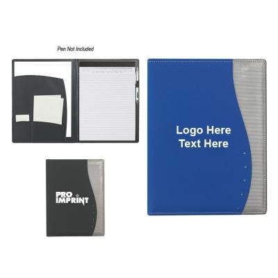 8.5x11 Inch Promotional Logo Wave Portfolios