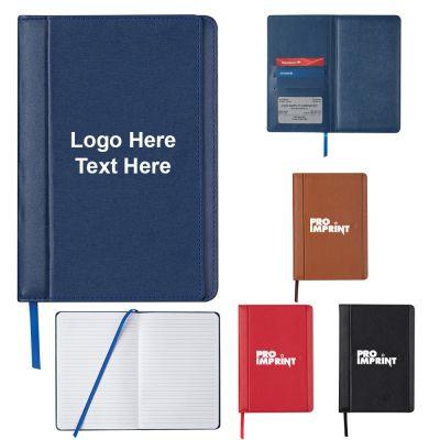 Custom Imprinted Double Flap Journal Notebooks