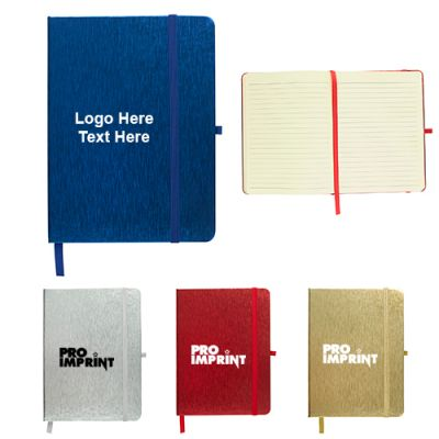 Custom Printed 5x7 Inch Metallic Journal Notebooks