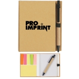 Custom Printed Eco-Inspired Notebooks with Pen