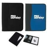 Custom Printed Large Microfiber Portfolios with...