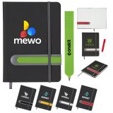 Customized 5x7 Inch Parallel Journal and Pen Sets