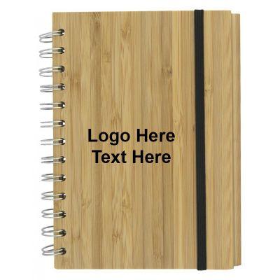 Promotional Bamboo Eco Notebooks
