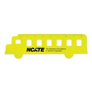 Promotional Fun School Bus Shaped Rulers