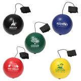 Custom Imprinted Stress Ball Yo-Yo Bungee