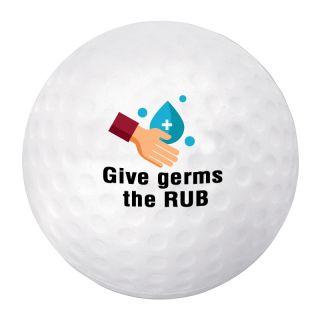 Custom Printed Golf Ball Stress Reliever