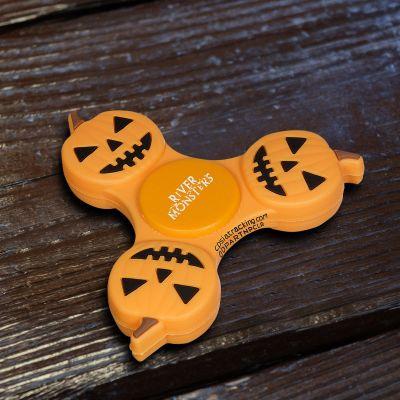 Custom Imprinted Pumpkin PromoSpinners