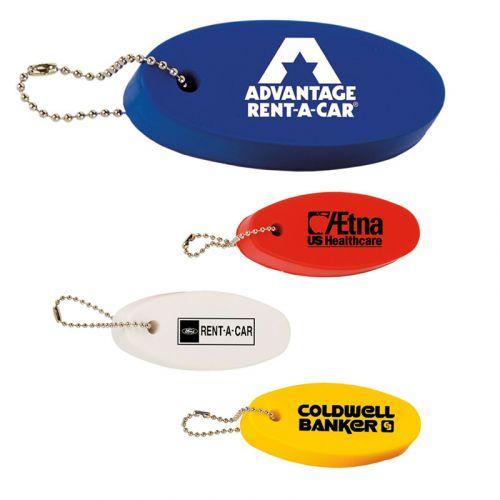 Floating Oval Key Tags