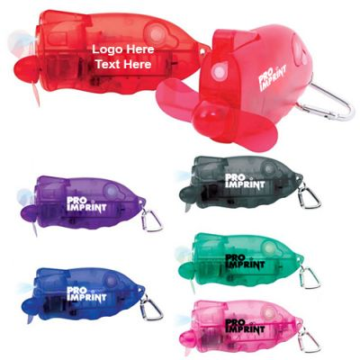 Promotional Logo Compact Spray Mist Fans