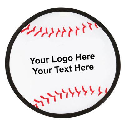 10 Inch Customized Baseball Folding Flyers