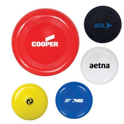 9 Inch Custom Printed Plastic Frisbees