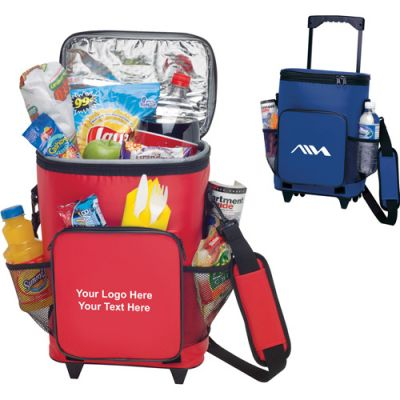 Personalized 18-Can Rolling Coolers