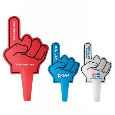 Promotional Logo 1 Finger Shaped Hand Fans