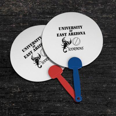 Custom Imprinted Plastic Hand Fans
