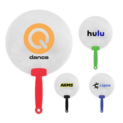 Promotional Logo Plastic Hand Fans