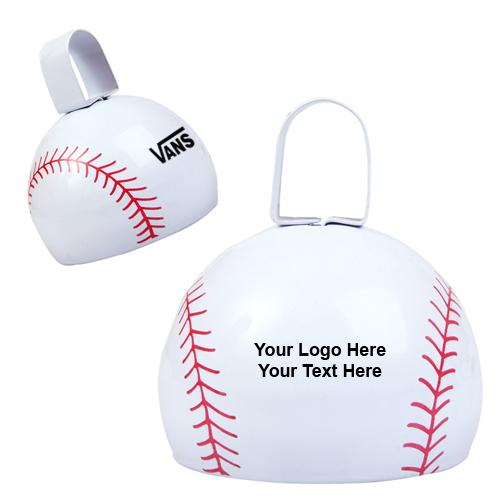 Customized Baseball Cow Bells