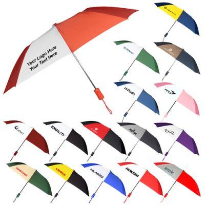 43 Inch Personalized Wind Logo Umbrellas