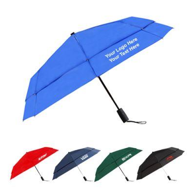 43 Inch Custom Printed Vented Logo Umbrellas
