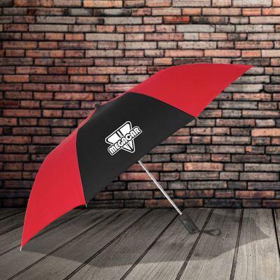 44 Inch Arc Custom Imprinted Auto-Open Folding Umbrellas