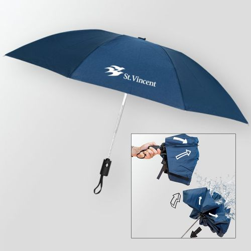 Promotional Renegade Auto Open/Close Inverted Umbrellas