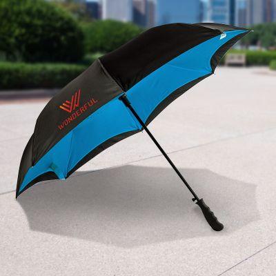48 Inch Arc Promotional Inverted Style Auto Close Umbrellas
