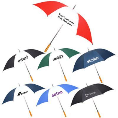 55 Inch Arc Personalized Golf Umbrellas