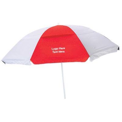 6 Ft Promotional Nylon Beach Umbrellas