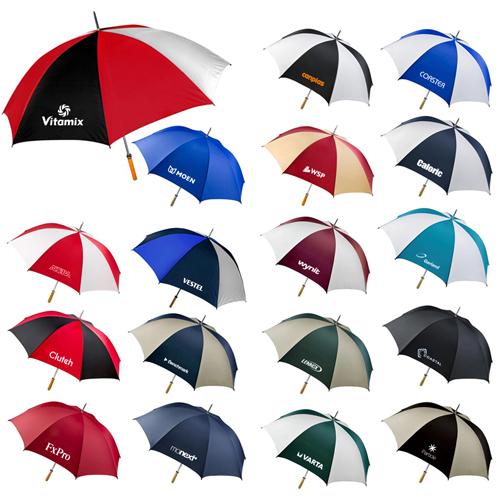 60 Inch Arc Custom Auto Open Folding Umbrellas