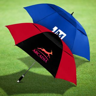 62 Inch Premium Custom Vented Golf Umbrellas